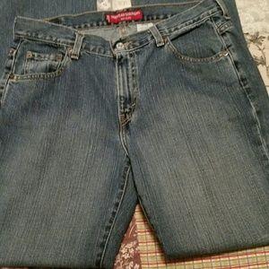 Levi's Nouveau Straight 505 jeans